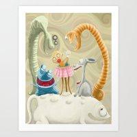 Crunchy Art Print