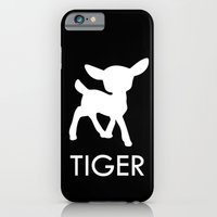 iPhone & iPod Case featuring Bambi Tiger by cuadrado