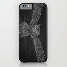 Owl sketch inverted iPhone 6 Slim Case