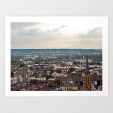 bonn, germany. Art Print