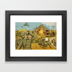 #ISIS #ISIL #IS #WHATEVER Framed Art Print