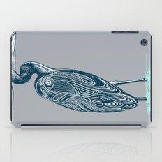 Bewitching blue heron iPad Case