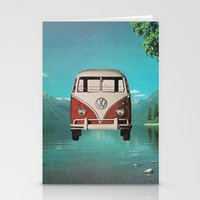 Car Ma Ged Don Too Stationery Cards