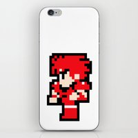 Young Fighter - Final Fa… iPhone & iPod Skin