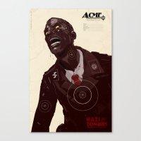 Nazi Zombies - Target Practice Canvas Print