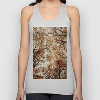 Woodland Trees Unisex Tank Top
