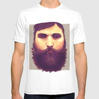 Jeff, Tor and Odin. Mens Fitted Tee White SMALL