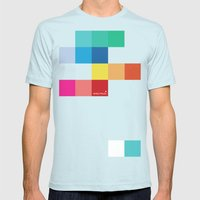 Spectrum Mens Fitted Tee Light Blue SMALL
