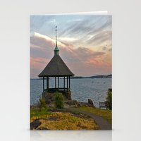 Gazebo Sky Stationery Cards