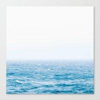 Sea & Sky #society6 #decor #style Canvas Print