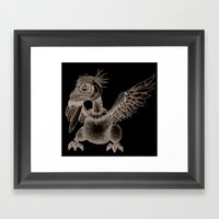 Iguageon Framed Art Print