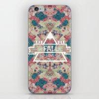 FALL LOVE iPhone & iPod Skin