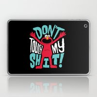 Crazy Elmo Laptop & iPad Skin