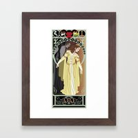Lili Nouveau - Legend Framed Art Print