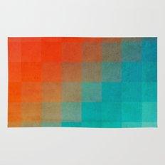 Beach Pixel Surface Rug