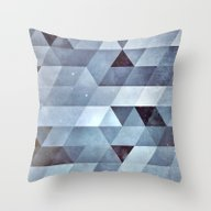 Snww Throw Pillow