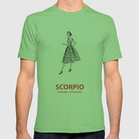 Scorpio Mens Fitted Tee Grass SMALL