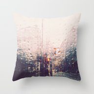 DC Rain Throw Pillow