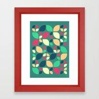 Vintage Spring Pattern II Framed Art Print