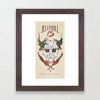 Jellyroll #13: Jason Framed Art Print