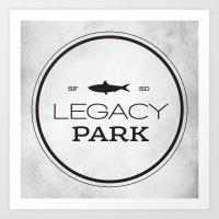 Legacy Park Art Print