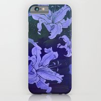 night lilies iPhone 6 Slim Case
