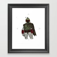 Fistful Of Credits Framed Art Print