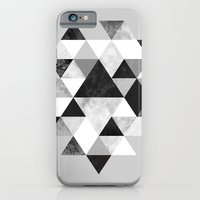 iPhone & iPod Case featuring Graphic 202 Black and White by Mareike Böhmer Graphics