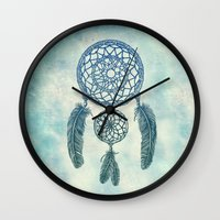 Double Dream Catcher Wall Clock