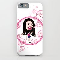 iPhone & iPod Case featuring Rebecca Black. It's Friday Again! by Alex Tavshunsky