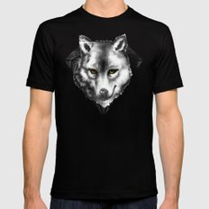 The Bad Wolf SMALL Black Mens Fitted Tee