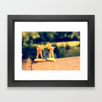 Brothers In Till The End Framed Art Print