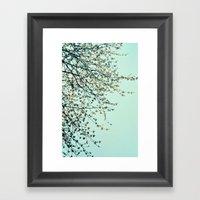 Spring Tapestry Framed Art Print