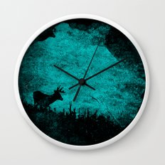 Patronus in a Dream Wall Clock