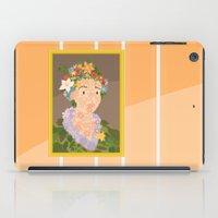 Flora by  Giuseppe Arcimboldo iPad Case
