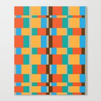 Color Patterns Canvas Print