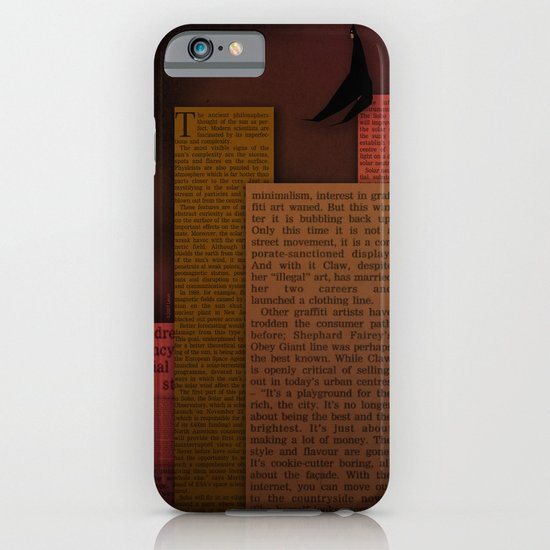 PAPER HEROES - Gotham iPhone & iPod Case