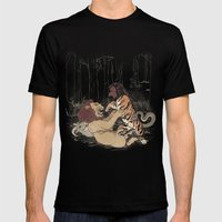 The Chimera Fight Mens Fitted Tee Black SMALL