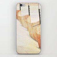 Snowfence iPhone & iPod Skin