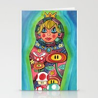 Russian Peach Stationery Cards