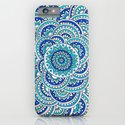 Floral Frost iPhone & iPod Case