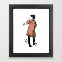 The Doctor Dances Framed Art Print