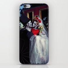 Day Of The Dead Wedding Day  iPhone & iPod Skin