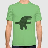 I'm not dangerous Mens Fitted Tee Grass SMALL