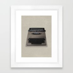 Kubrick Still Life #2 Framed Art Print