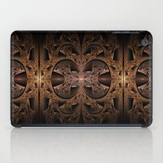 Steampunk Engine Abstract Fractal Art iPad Case