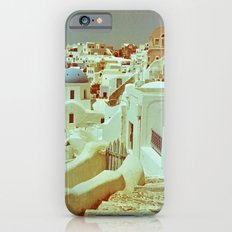 Santorini in Raspberry and Blue II: shot using Revolog 600nm special effects film Slim Case iPhone 6s