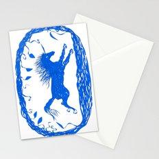 Blue Unicorn 02 Stationery Cards