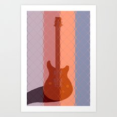 It's Electric Subdued Art Print