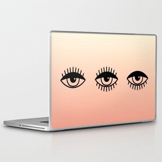 AWAKE ASLEEP Laptop & iPad Skin